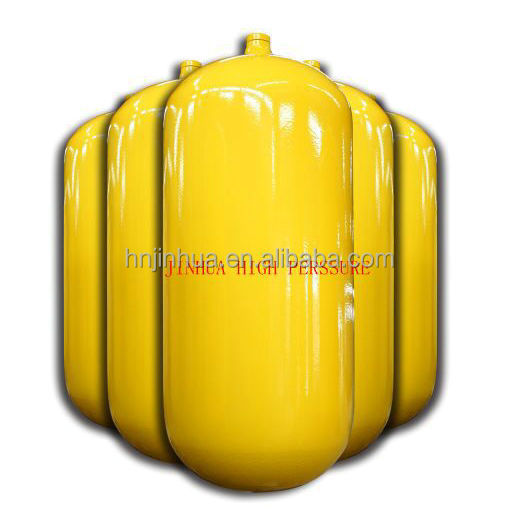 Hot sale steel gas cylinder (cng type 1 ) 30-150 liters capacity with ECER 110 standard