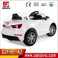 China Import Toys Audi A3 Ride