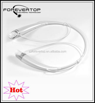 2016 fantasitc sport headphone 4.0 stereo bluetooth earphone | stereo necklace earphone sports smart portable headphone