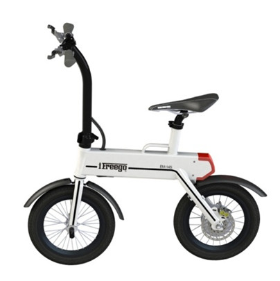 Portable mobility two wheeled adult electric scooter electric bike