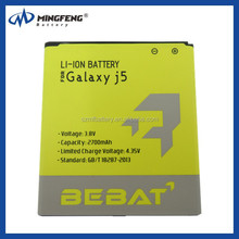 Mobile Phone Battery for samsung galaxy j5 batery, battery for j5 j5000 j500h/f
