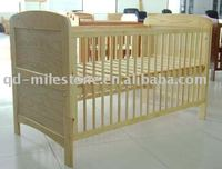 Pine Eco-friendly the factory outlet wooden children bed