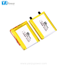 803040 3.7v 1000mah 2parallel 2000mah 7.4v lithium polymer rechargeable battery
