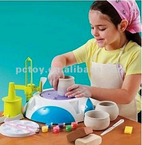 Discovery kids pottery wheel