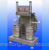 Shendong 2 station beer keg filling machine for brewery