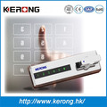 Round digital vaulting password lock for cabinet