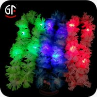 China Party Items Free Sample Led Lighted Plastic Flower Arrangement