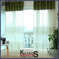blackout lace curtain fabric