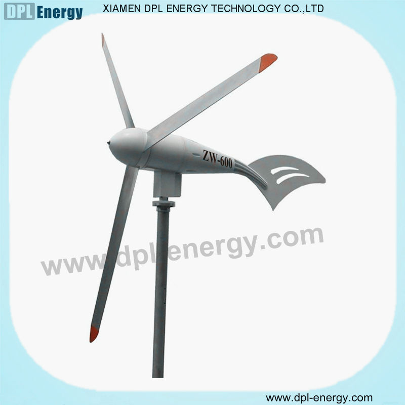 wind power electric generator wind turbine generator 600w home wind turbine kits