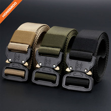 Popular Braided Tactical Cobra Buckle Belt