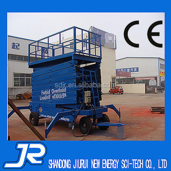 Big Tire Scissor Lift for sale
