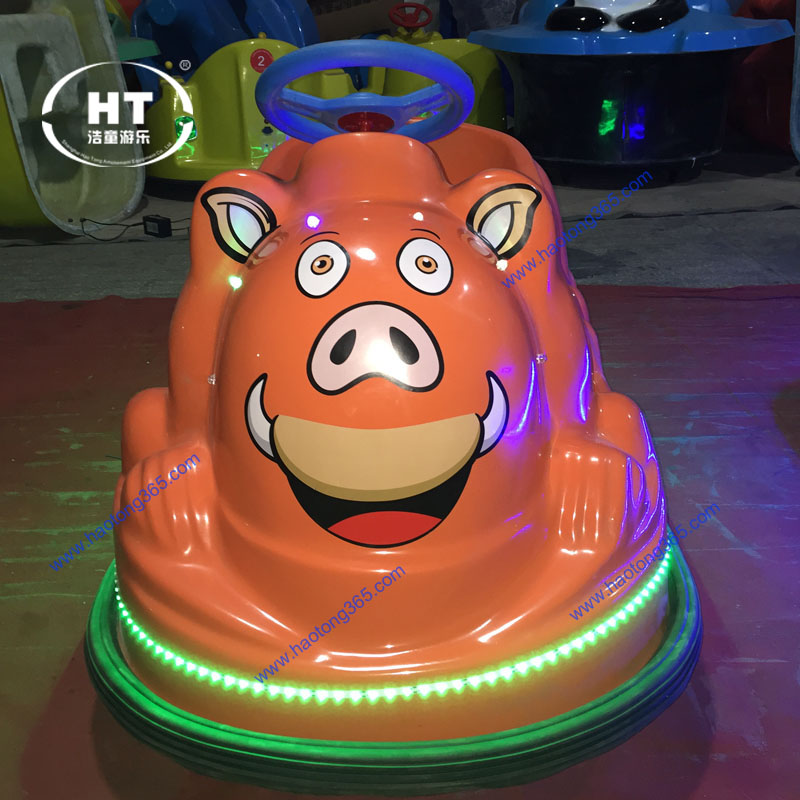 Direct manufacture in popular amusement park equipment indoor kid bumper car for sale