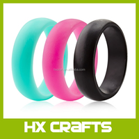 Amazon private lable silicone wedding ring,custom silicone finger rings