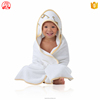 Guangzhou 100% organic bamboo terry towelling fabric animal baby hooded bath towels