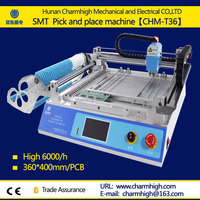 PCB assembling pick and place machine Benchtop SMT Chip Mounter LED Pick and Place Machine