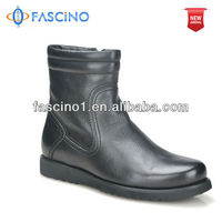 2014 black leather horse riding boots