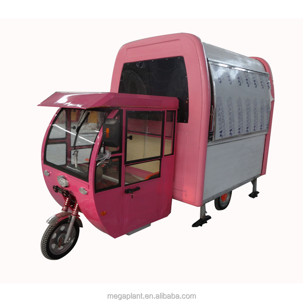 China Hot Dog Vending Kitchen Electric Used Mobile Food Trailer,Mobile Food Cart