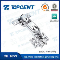 165 degree metal cabinet concealed corner furniture hinges