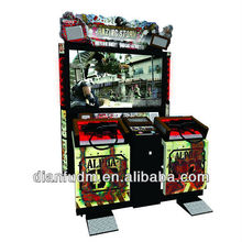 55 inch gun shooting arcade game machine Razing Storm, simulator machine DF-S05