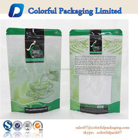 Custom printed resealable ziplock moisture proof food package bags
