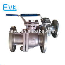3 inch CF8M stainless steel ball valve with lever operation