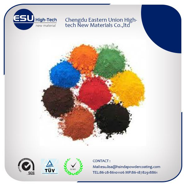 ISO quality epoxy electrostatic powder coatings paint