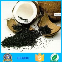 Factory Supply Coconut Shell Granular Activated Carbon For Organic Solvents Decoloration Refining