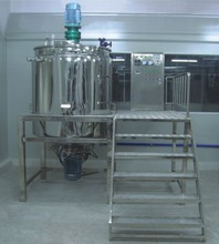 Heating Stir 316L mixing machine make jam mixing machine factory