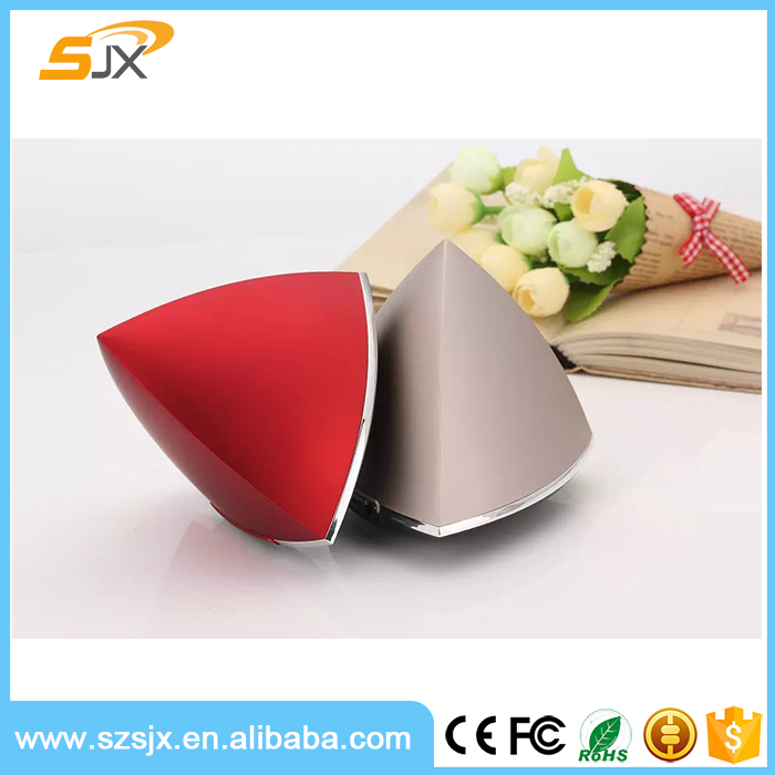 Christmas Promotion Gift Mini Triangle Pyramid Shape Bluetooth Speaker