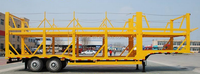 Dimension customized cargo trailer car transport semi truck trailer for sale