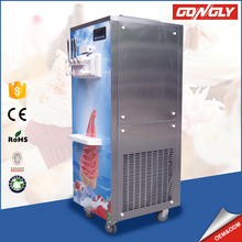 Big capacity 304 stainless steel Ice Cream Machines with precooling