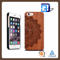 Newest Laser Engraving Customized Design OEM For iPhone 5 Engraved Wooden Cell Phone Case For iPhone 5S Case Wood