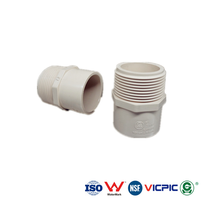 Sch 40 PVC Reducing Male Adapter