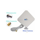 High Gain 35dbi 4g modem external antenna Double cable 4G LTE antenna for E5573-852/853/856