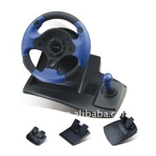 PC-USB Wired Vibration Racing Car game Steering Wheel For PC-usb Steering Wheel Controller