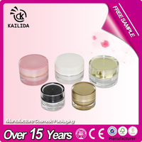 5g cute round cosmetic container small plastic cosmetic containers mini acrylic jar