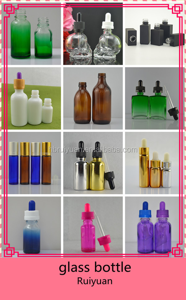 Wholesale Matte/Glossy black essential oil glass roller ball bottle 10ml with