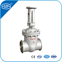 API carbon Stainless Steel Cf3m Rising Stem Bolted Bonnet Flange Hand wheel Gate Valve with gear operated