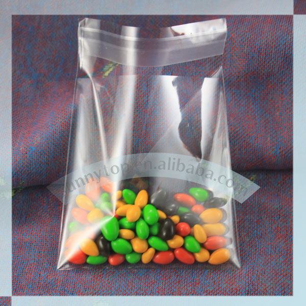 clear plastic cellophane bag