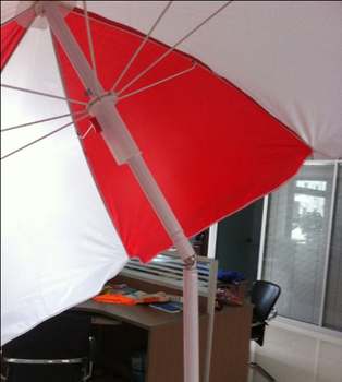 Wholesale Advertising outdoor Beach Umbrella with tilt