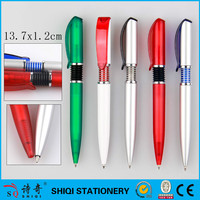Smooth writing plastic parker refill click ball pens