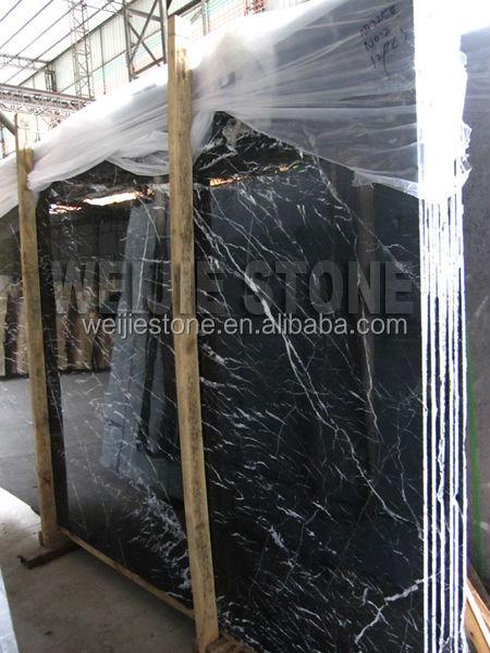 Noir et nero marquina marbre plaque bon prix chinois pas for Carrelage a bon prix