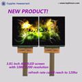Factory selling 3.81inch oled new product refresh rate be up to 120HZ