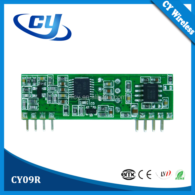 CY09R ASK/OOK 315/433mhz AM Receiver Module