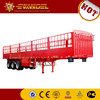 flat bed trailer 3 axles 40ft flatbed concrete mixer semi trailer