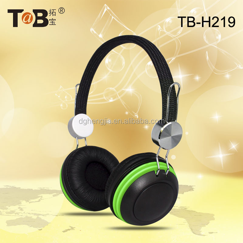 Bright Colored Headphones Promotional Headphones for Christmas Gift Very Beautiful Headphone as Birthday Present for Chidlren
