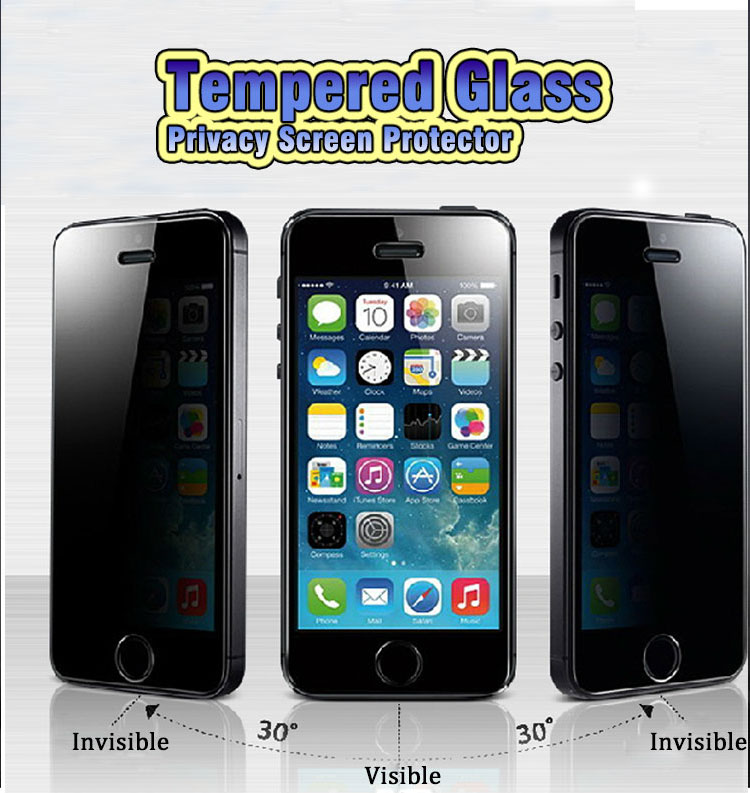 New Premium Tempered Glass Film Screen Protector for Apple iPhone 6 mobile phone, Nano Slim Tempered Glass Screen Protector