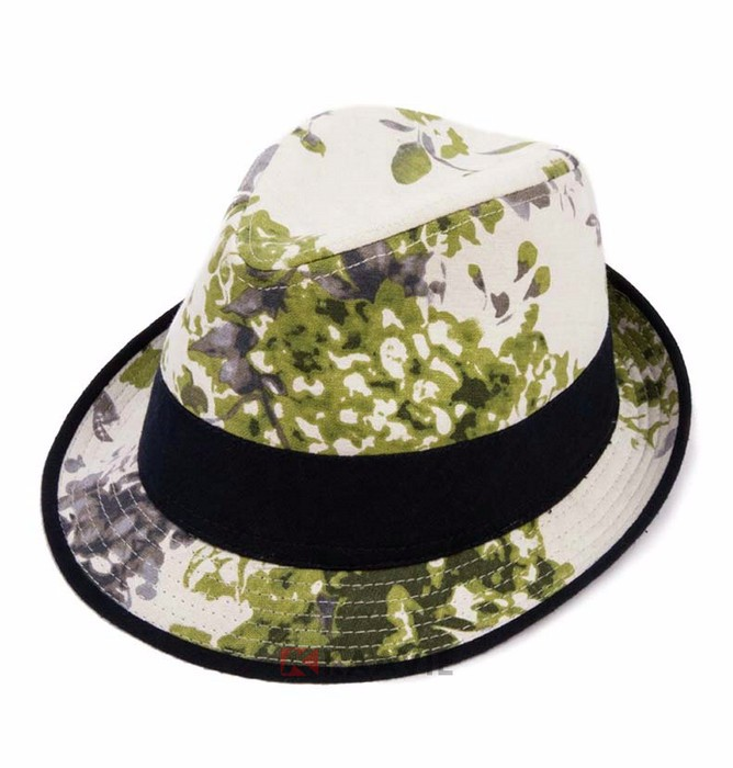 women lady summer beach custom fedora caps and hats made in china