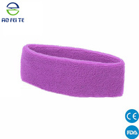 2015 Top sell products on china market Unisex Sport football Tennis Cotton Headband Hairband Sweatband