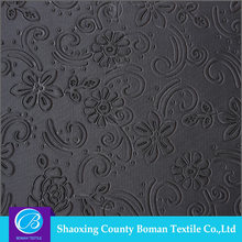 Fabrics supplier Top-end Design Knitted embossed polyester fabric